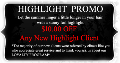 Advanced Hair Design - Narraganset RI  - Highlite Promo